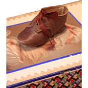 Single Character Doll Leather Shoe