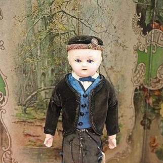 Interesting All Original Early Motschmann Boy