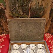 Original Cafe/Tea Set in Box