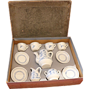 Original Cafe/Tea Set in Box