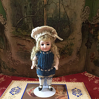 Lovely German All Bisque Doll