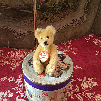 """Small """"Original Teddy"""" Bear by Steiff"""