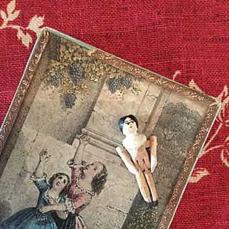 Little Wooden Grödnertal Doll