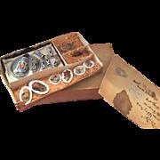 Fantastic German Food Buffet for Small Dolls in Original Box