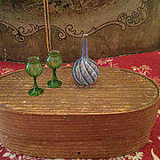 Fine Glass Items for Dollhouses
