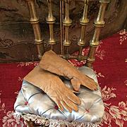 Original Fine Leather Gloves for Lady Dolls