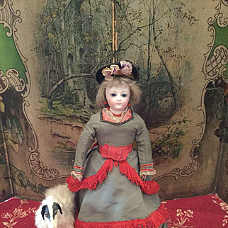 All Original French Bisque Fashion Doll