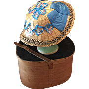 Early French Straw Hat