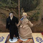 Lovely Dollhouse Dolls