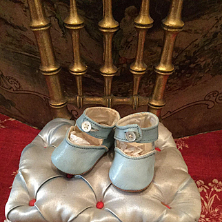 Lovely Old Baby Shoes for Dolls