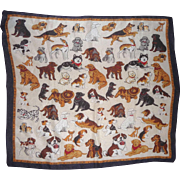 Adorable All Breeds PUPPY DOG SCARF Hanky with Commands