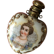 Victorian Chatelaine Perfume/scent  bottle