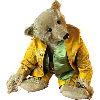 Edwardian Silk Brocade Child's 3 piece suit