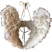 Early 20th century Vintage Processional Angel Wings