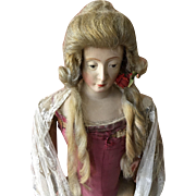 Vintage Theatre wig in the 18th century style
