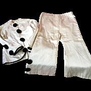 Original 1920's Children's Pierrot costume