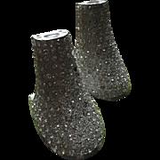 Original 1920's Flapper Rhinestone heels