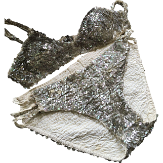 1920's Sequinned Showgirl/Circus Costume