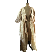 Open Robe Silk Brocade - 18th Century in need of Restoration