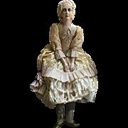 French Boudoir Doll - circa 1920's