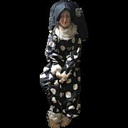 Harlequin Boudoir Doll - Rare 1920's Anita Type