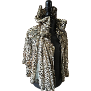 Sequinned Shoulder Cape - 1930's Original