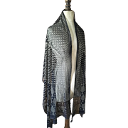 Assuit Shawl - Egyptian Revival dating to the 1920's