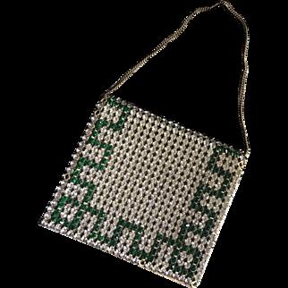 1920's Art Deco Rhinestone Evening Bag