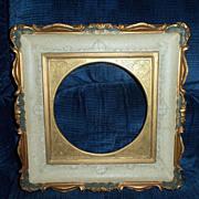 Vintage Matching Pair of Vancor Vanelli Ornate  Italian Plate Frames