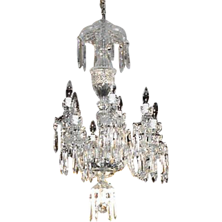 Waterford Avoca 10-Arm Crystal Chandelier