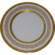 Anais Palais By Faberge Gold Encrusted Salad Plate Pattern Number 6522