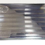 60's Sterling Silver Cigarette Holder Case