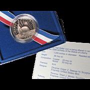 1986-S Proof Commemorative Liberty Half Dollar 50c Nice Cameo with Box and COA