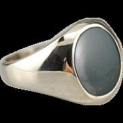 Vintage Bloodstone Men's Ring