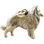 Lassie, Collie Dog Charm or Pendant