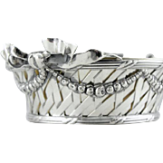 Vintage Tiffany Sterling Silver Candy Dish