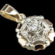 Mix Era Diamond Pendant