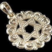 Vintage Star of David Pendant