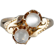 Dreamy Moonstone Cocktail Ring