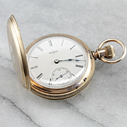Antique 1888 Elgin Pocket Watch