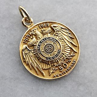 50th Anniversary American Legion Medallion, Circa 1969