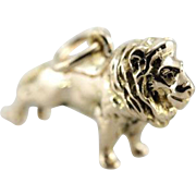 Royal Lion Charm or Layering Pendant