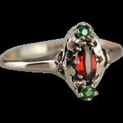 Pretty Pyrope Garnet Dinner Ring