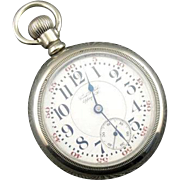Pocket Watch From Epping, NH, Circa 1912