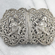 Ornate India Vintage Belt Buckle