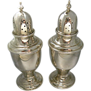 Vintage Newport Sterling silver salt and pepper set.