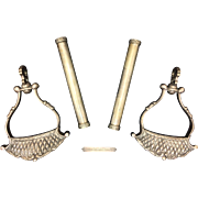 Very Rare Argentine Gaucho Stirrup Set