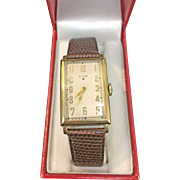 14 K Yellow Gold Vintage men's Elgin watch  Circa 1936