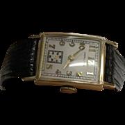 10K Yellow Gold  Vintage Hamilton Men's  Watch
