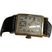 10K Yellow Gold  Vintage Hamilton Men's  Watch
